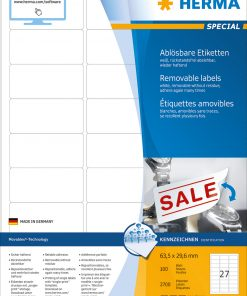 HERMA 10300 MOVABLES LABELS A4