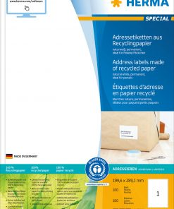 HERMA 10831 LABEL RECYCL PAPER