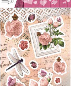 HERMA 15040 DECOR rose magic
