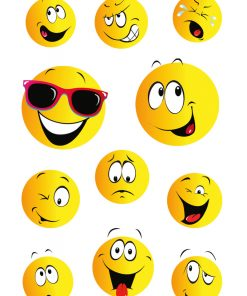 HERMA 15042 DECOR happy face