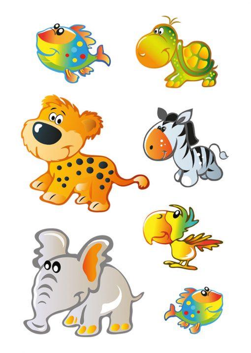 HERMA 15043 DECOR animals kids