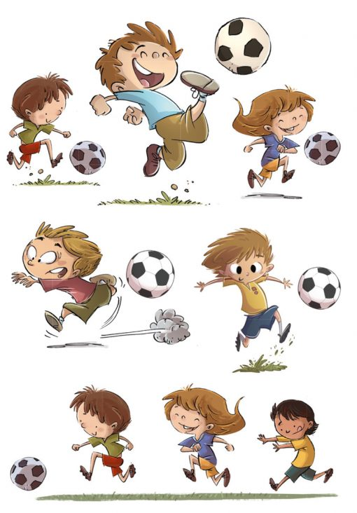 HERMA 15044 DECOR soccer frien