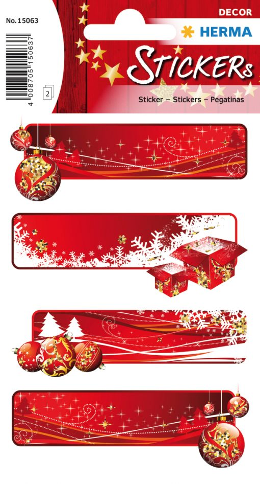 HERMA 15063 DECOR GIFT LABELS