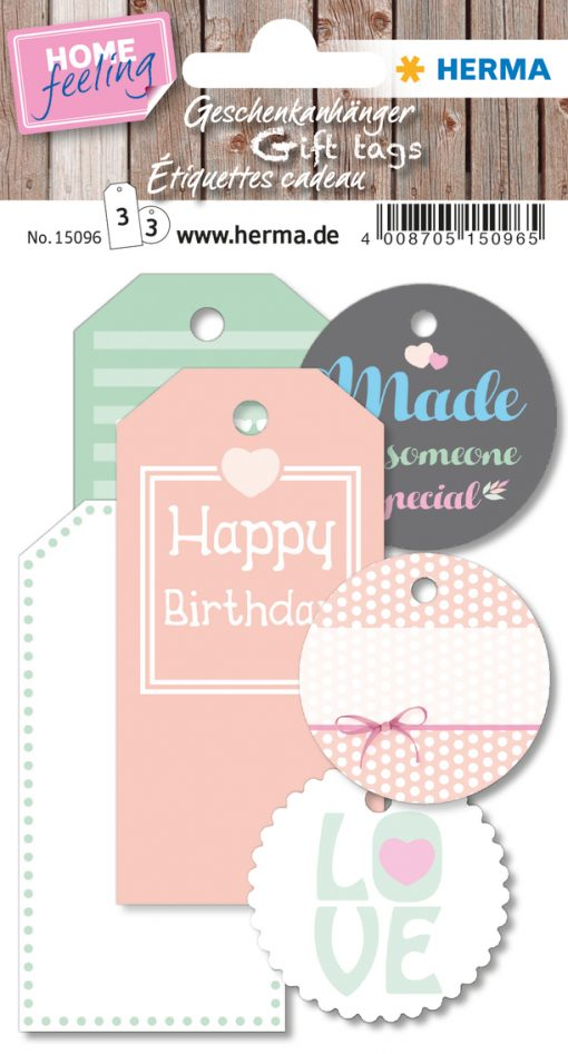 HERMA 15096 HOME GIFT TAGS
