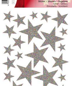 HERMA 15128 MAGIC STARS SILVER