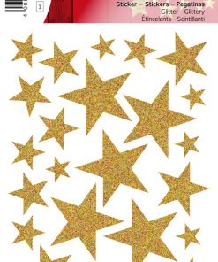 HERMA 15129 MAGIC STARS GOLD