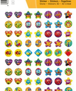 Herma MAGIC Sticker Little Rainbows Stone