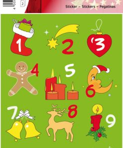 HERMA 15253 DECOR ADVENT CALEN