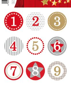 HERMA 15254 DECOR ADVENT CALEN