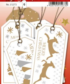 HERMA 15273 GIFT TAGS CHRISTMA