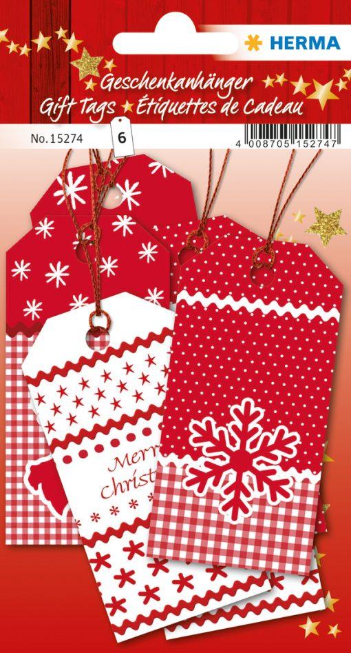 HERMA 15274 GIFT TAGS CHRISTMA