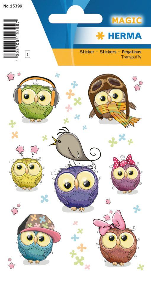 HERMA 15399 MAGIC CUTE OWLS