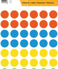 HERMA 1851 COLOUR DOTS VARIO