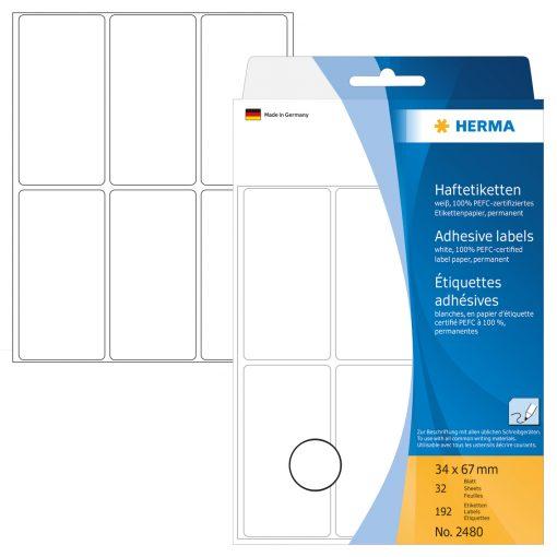 HERMA 2480 OFF PACK MULTIP LAB