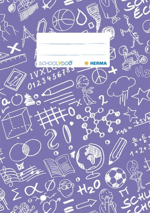 HERMA 19418 EXERC BOOK COVER