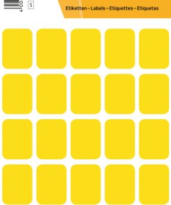 HERMA 3661 VARIO LABELS YELLOW