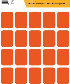 HERMA 3662 VARIO LABELS RED