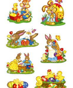 HERMA 3718 DECOR Rabbit Parade