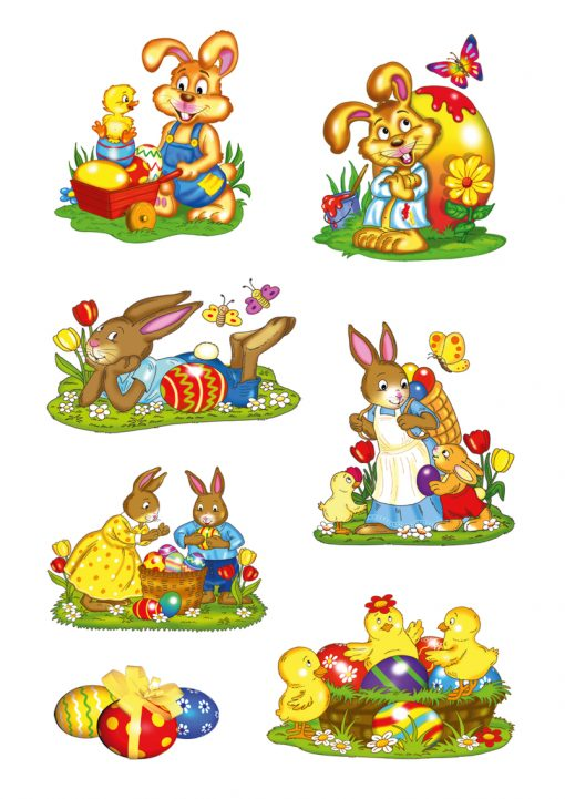 HERMA 3718 DECOR Rabbit Parade