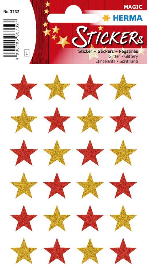 HERMA 3732 MAGIC STARS GLITTER