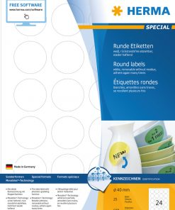 HERMA 5066 MOVABLES LABELS A4