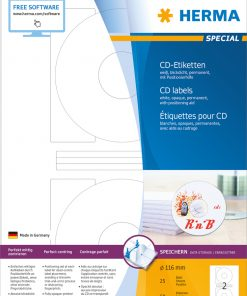 HERMA 5079 CD LABELS OPAQUE A4