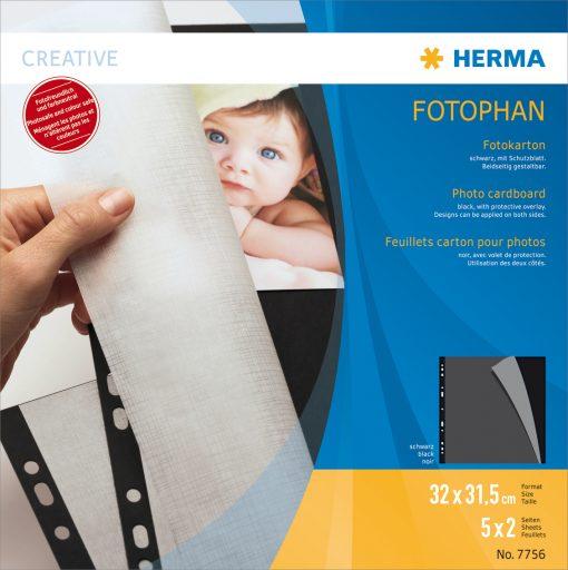 HERMA 7756 PHOTO CARDBOARD 320