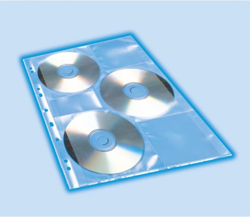 HERMA 7685 CD/DVD POCKETS A4