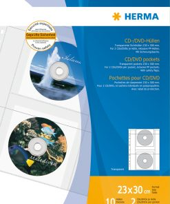 HERMA 7682 CD/DVD POCKETS A4