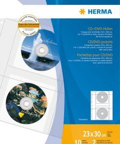 HERMA 7682 CD/DVD POCKETS A4