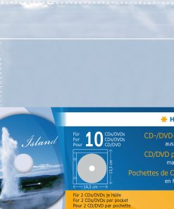 HERMA 7686 CD/DVD POCKETS PP