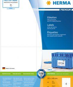 HERMA 8630 PREMIUM LABELS A4