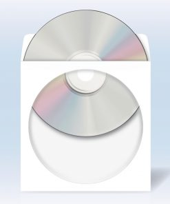 HERMA 1141 CD/DVD POCKETS WHIT