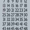 HERMA 4134 VARIO NUMBERS1-100
