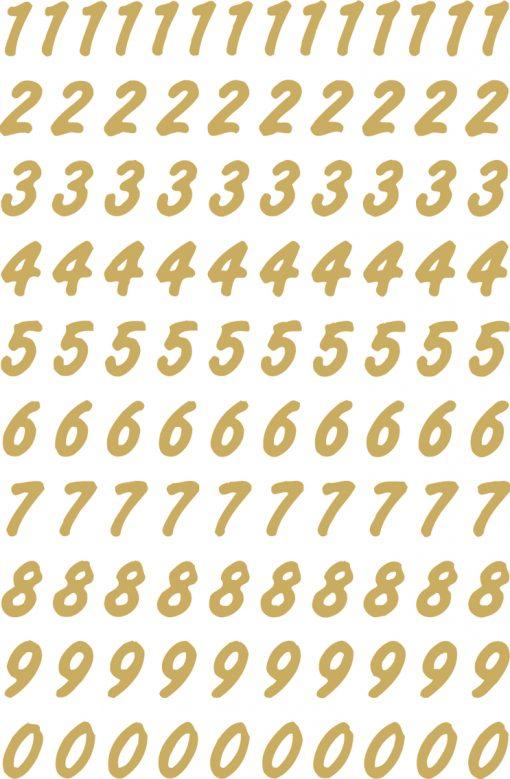 HERMA 4151 VARIO NUMBERS 0-9