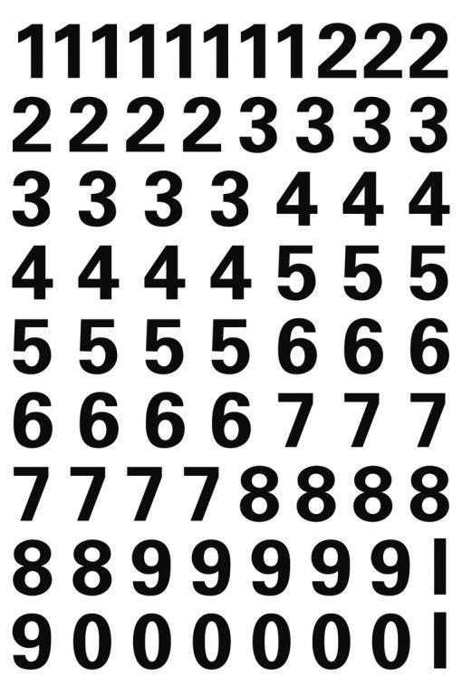 HERMA 4159 VARIO NUMBERS 0-9