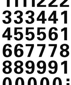 HERMA 4164 VARIO NUMBERS 0-9