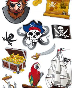 HERMA 3229 MAGIC PIRATES PRISM