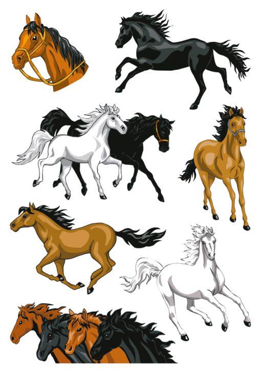 HERMA 3259 MAGIC HORSES STONE