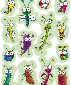 HERMA 3268 MAGIC FUNNY INSECTS