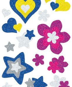 HERMA 3272 MAGIC HEARTS STARS+