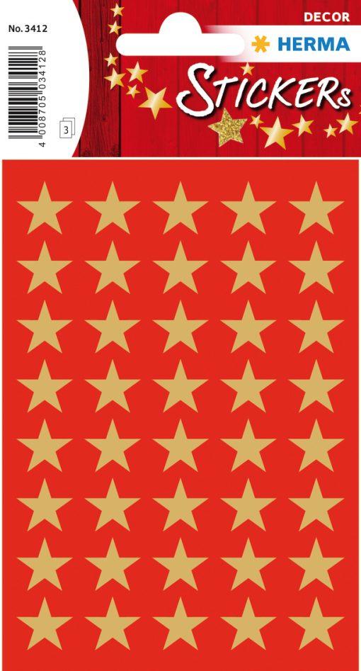 HERMA 3412 DECOR STARS 13MM