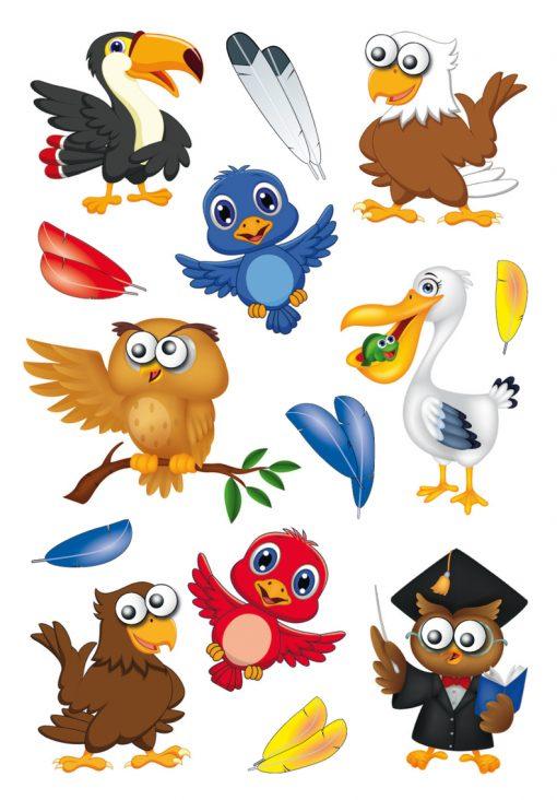 HERMA 3682 MAGIC NEST BIRDS MO
