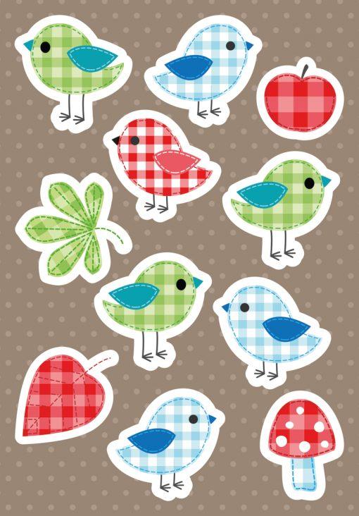 HERMA 3684 MAGIC BIRDIES CARDB
