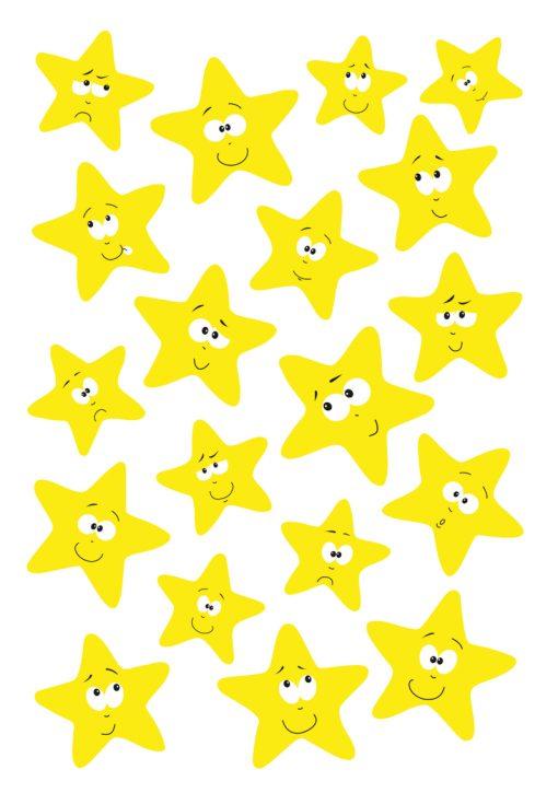 HERMA 3714 MAGIC STARS LUMINOU