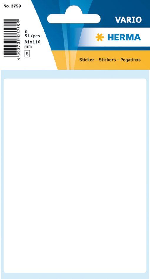 HERMA 3759 VARIO LABELS WHITE