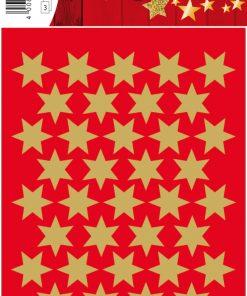 HERMA 3903 DECOR STARS GOLD