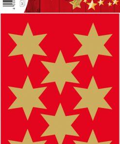 HERMA 3925 DECOR STARS GOLD