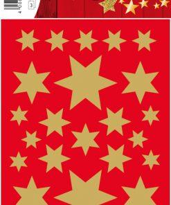 HERMA 3927 DECOR STARS GOLD