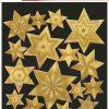 HERMA 3929 DECOR STARS GOLD/E